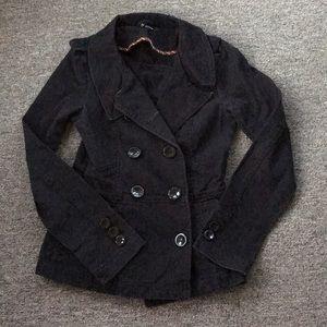 Black Pea Coat.